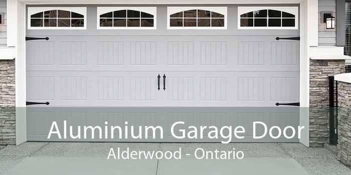 Aluminium Garage Door Alderwood - Ontario
