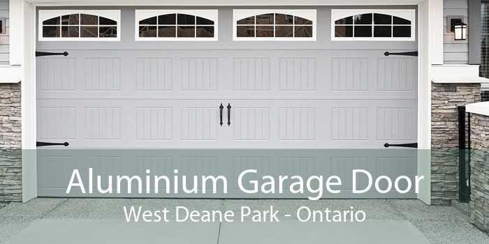 Aluminium Garage Door West Deane Park - Ontario