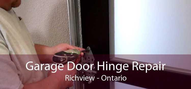 Garage Door Hinge Repair Richview - Ontario