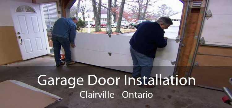 Garage Door Installation Clairville - Ontario