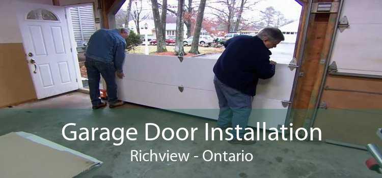Garage Door Installation Richview - Ontario