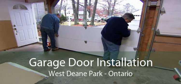Garage Door Installation West Deane Park - Ontario