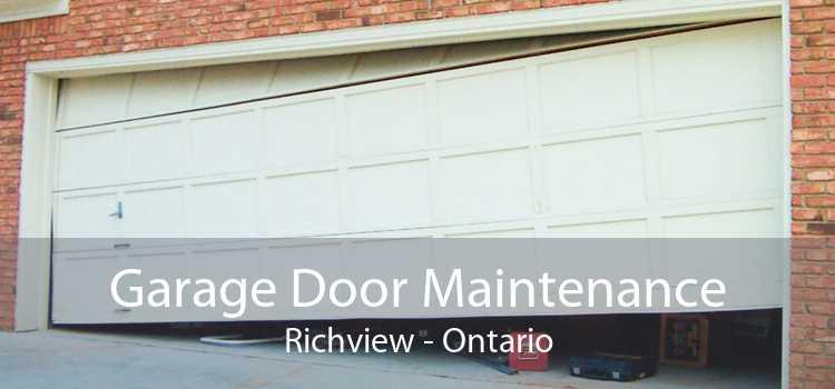 Garage Door Maintenance Richview - Ontario