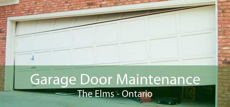 Garage Door Maintenance The Elms - Ontario