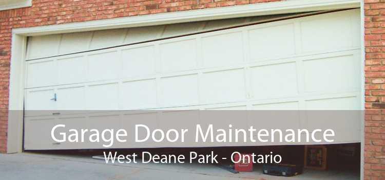 Garage Door Maintenance West Deane Park - Ontario
