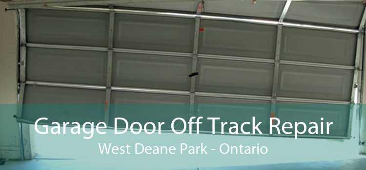 Garage Door Off Track Repair West Deane Park - Ontario