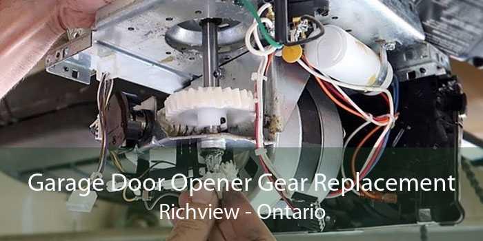 Garage Door Opener Gear Replacement Richview - Ontario