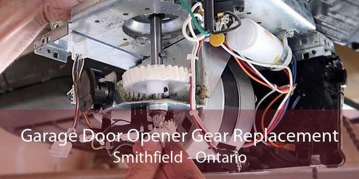 Garage Door Opener Gear Replacement Smithfield - Ontario