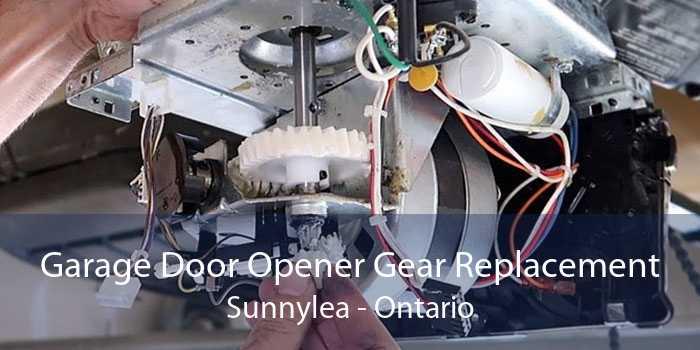 Garage Door Opener Gear Replacement Sunnylea - Ontario