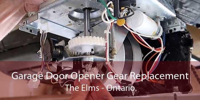 Garage Door Opener Gear Replacement The Elms - Ontario