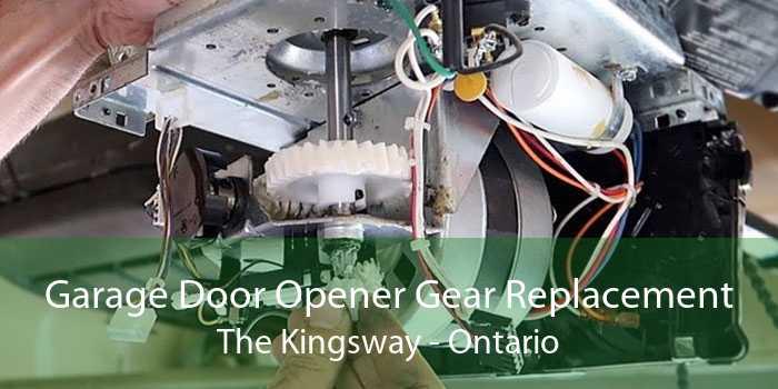Garage Door Opener Gear Replacement The Kingsway - Ontario