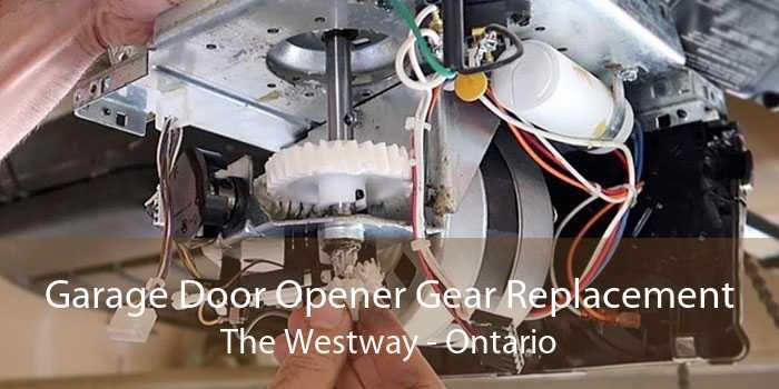Garage Door Opener Gear Replacement The Westway - Ontario