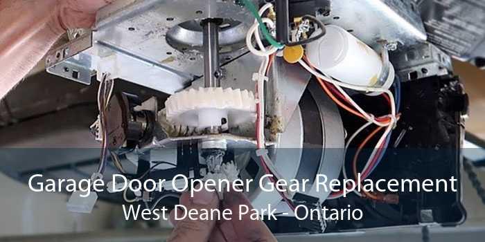 Garage Door Opener Gear Replacement West Deane Park - Ontario