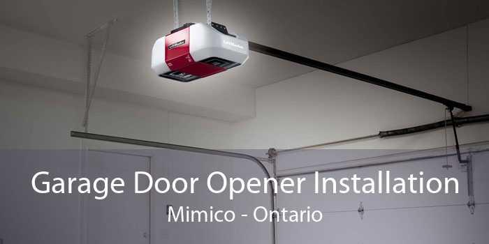 Garage Door Opener Installation Mimico - Ontario