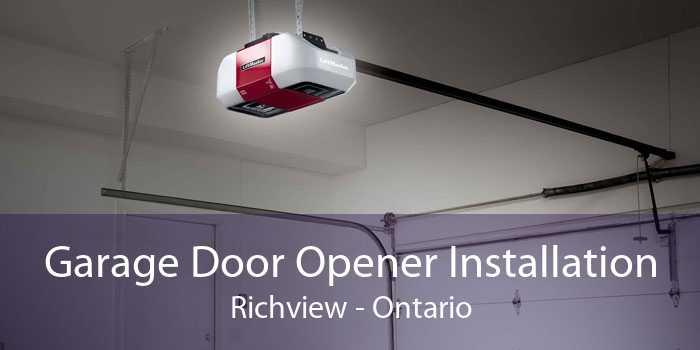 Garage Door Opener Installation Richview - Ontario