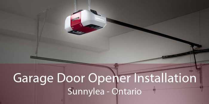 Garage Door Opener Installation Sunnylea - Ontario
