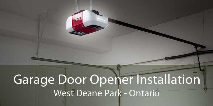 Garage Door Opener Installation West Deane Park - Ontario