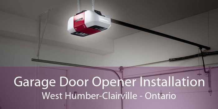 Garage Door Opener Installation West Humber-Clairville - Ontario