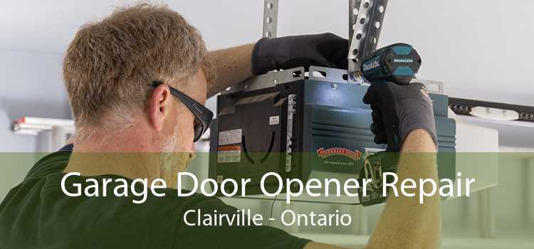 Garage Door Opener Repair Clairville - Ontario