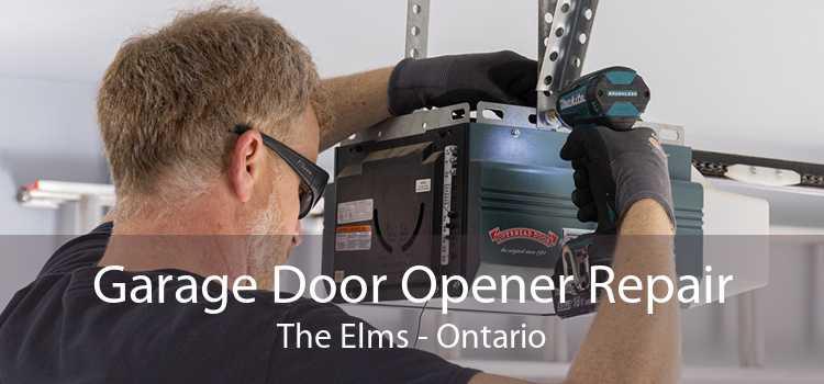 Garage Door Opener Repair The Elms - Ontario