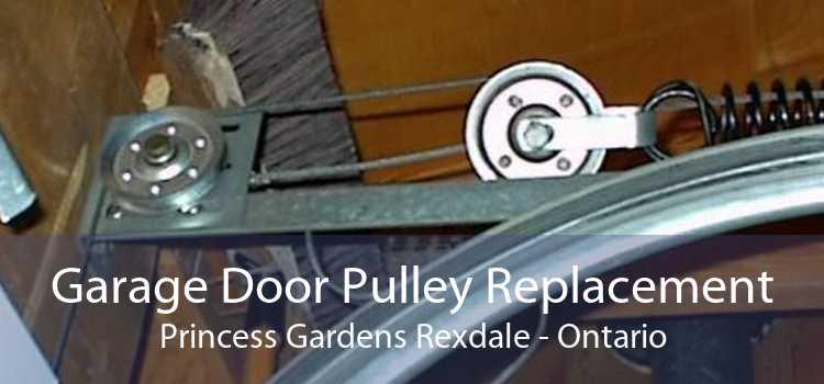 Garage Door Pulley Replacement Princess Gardens Rexdale - Ontario