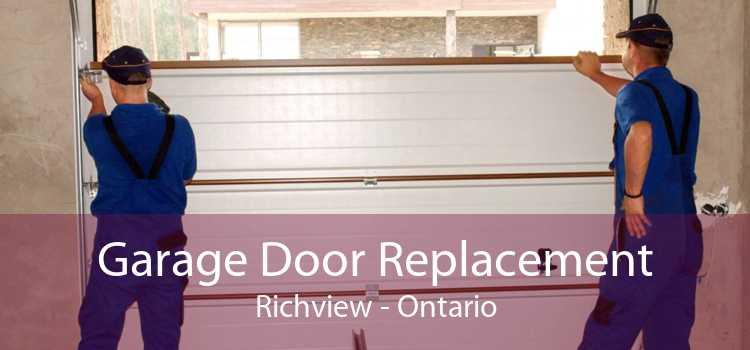 Garage Door Replacement Richview - Ontario
