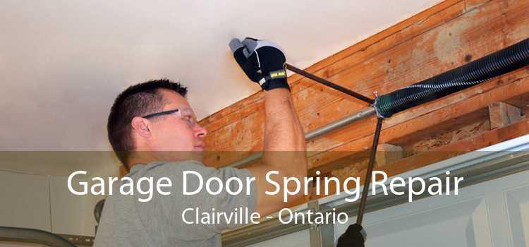 Garage Door Spring Repair Clairville - Ontario