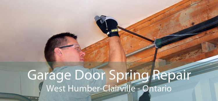 Garage Door Spring Repair West Humber-Clairville - Ontario