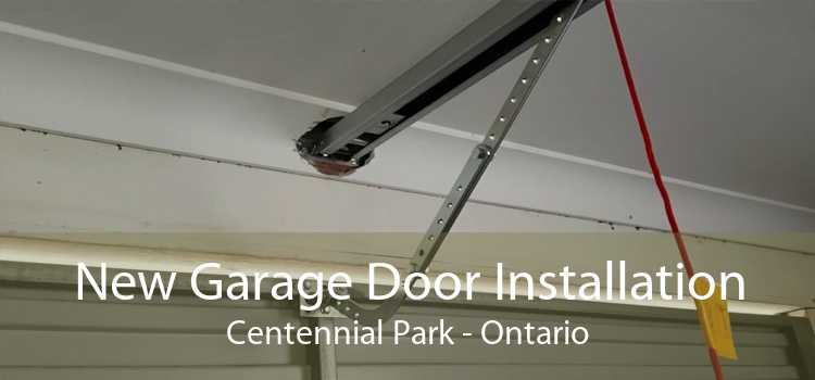 New Garage Door Installation Centennial Park - Ontario
