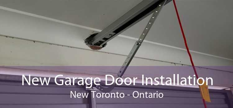 New Garage Door Installation New Toronto - Ontario