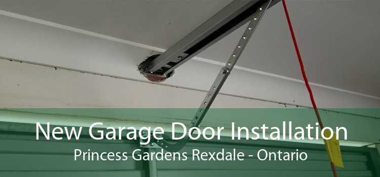 New Garage Door Installation Princess Gardens Rexdale - Ontario