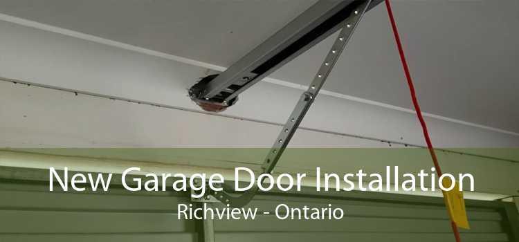 New Garage Door Installation Richview - Ontario