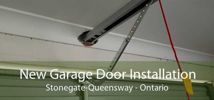New Garage Door Installation Stonegate-Queensway - Ontario