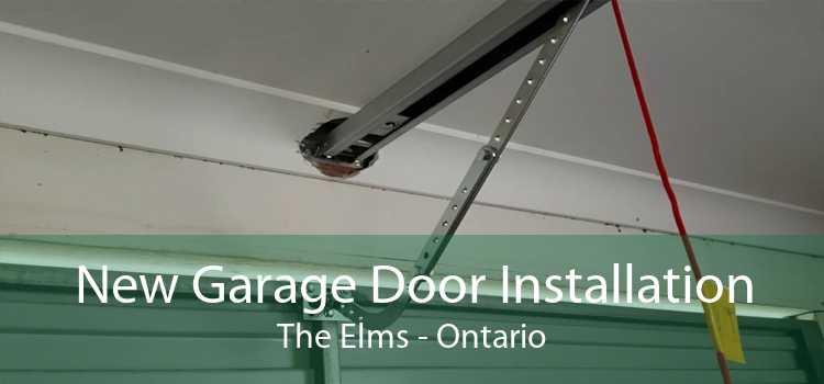 New Garage Door Installation The Elms - Ontario