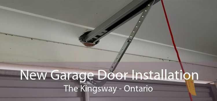 New Garage Door Installation The Kingsway - Ontario