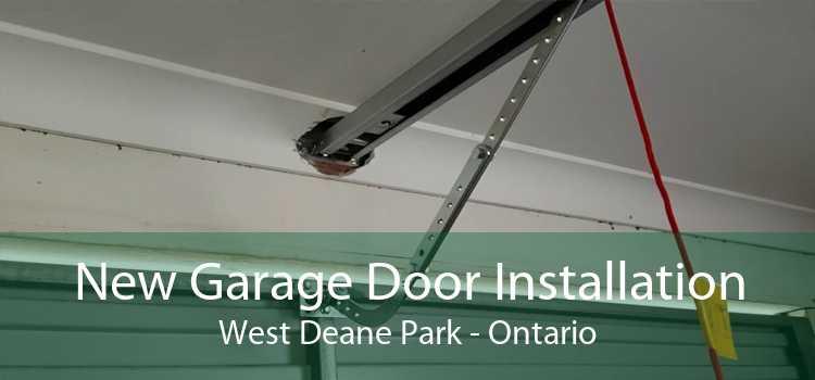 New Garage Door Installation West Deane Park - Ontario