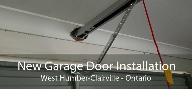 New Garage Door Installation West Humber-Clairville - Ontario