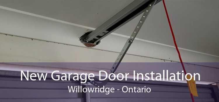 New Garage Door Installation Willowridge - Ontario