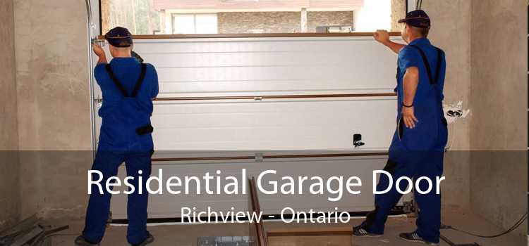 Residential Garage Door Richview - Ontario
