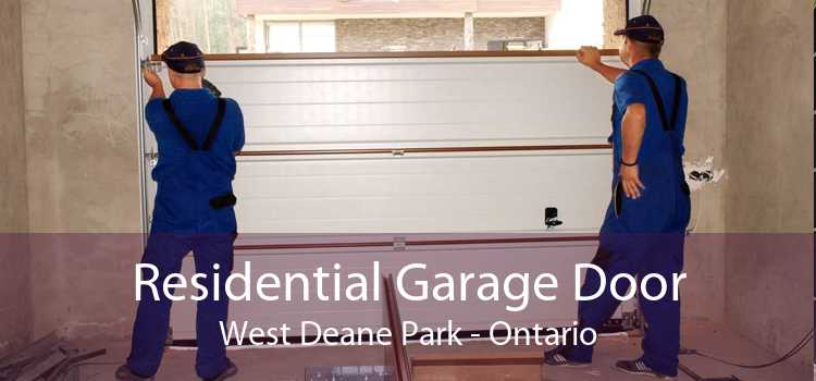 Residential Garage Door West Deane Park - Ontario