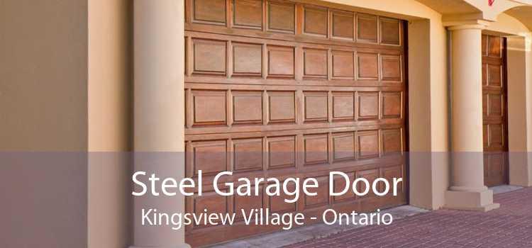 Steel Garage Door Kingsview Village - Ontario