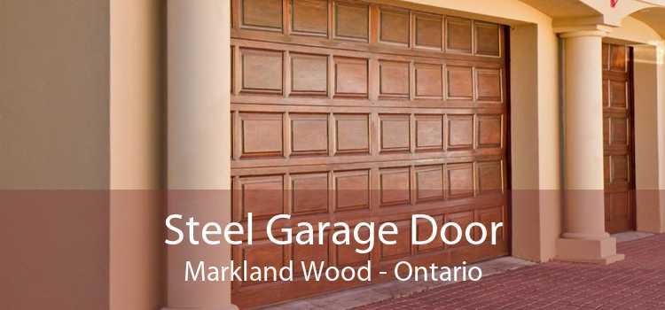 Steel Garage Door Markland Wood - Ontario