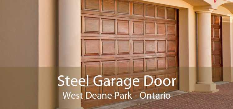Steel Garage Door West Deane Park - Ontario