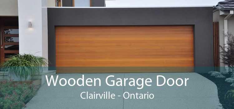 Wooden Garage Door Clairville - Ontario