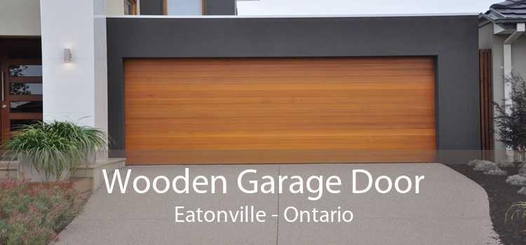 Wooden Garage Door Eatonville - Ontario