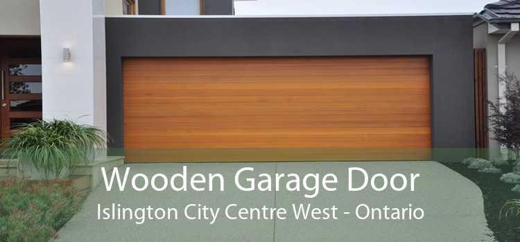 Wooden Garage Door Islington City Centre West - Ontario