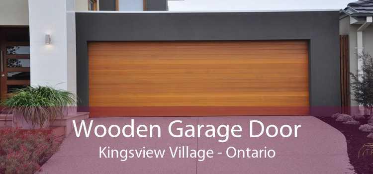 Wooden Garage Door Kingsview Village - Ontario