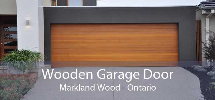Wooden Garage Door Markland Wood - Ontario
