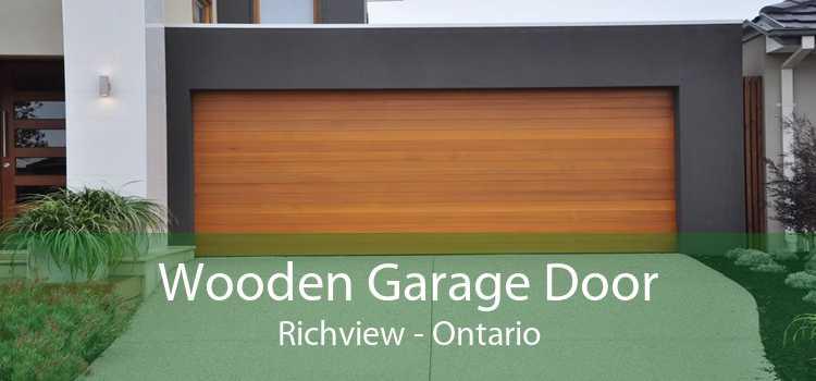 Wooden Garage Door Richview - Ontario