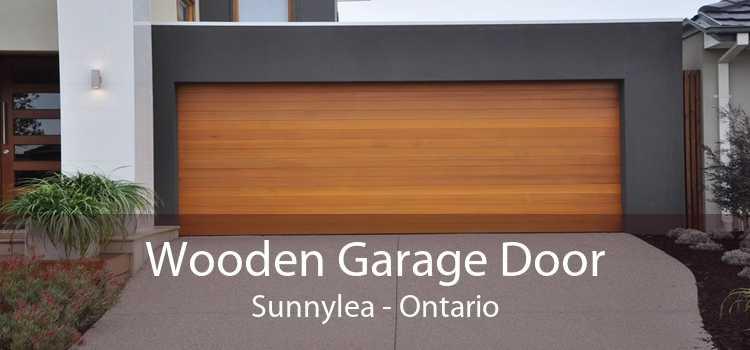 Wooden Garage Door Sunnylea - Ontario